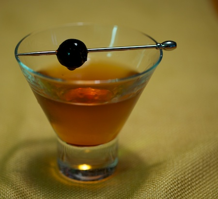 Brooklyn Cocktail Finished