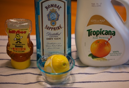Bebbo ingredients. Dont mind the Tropicana.
