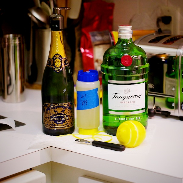 The French 75 Ingredients